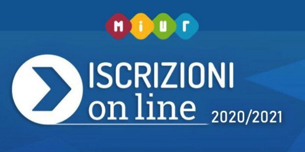 Apertura iscrizioni on line